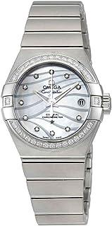 Omega - Constellation Co-Axial Reloj de señoras automático con esfera de madre perla 123.15.27.20.55.002