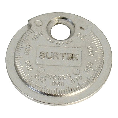 Surtek 107336 Calibrador Tipo Rampa para Bujía