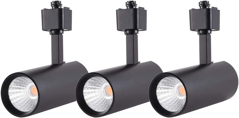 mirrea 3 Pack 16.5W Limited price sale Dimmable LED Track Heads Large special price !! Lighting Compatible