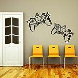 DecorimDecorWallDecal Wandaufkleber Game-Controller Gamer