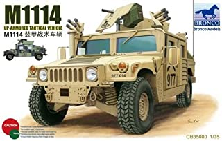 Bronco Models 1/35 M1114 Up-Armored Tactical Vehicle