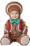 InCharacter Sweet Gingerbaby Infant Costume, Medium (12-18) Brown