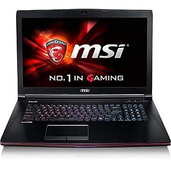 MSI GE Series GE72 Apache Pro-003 Gaming Laptop 6th Generation Intel Core i7 6700HQ  2.60 GHz  16 GB Memory 1 TB HDD NVIDIA GeForce GTX 960M 2 GB GDDR5 17.3   Windows 10 Home