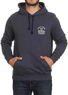 Animal Mens Laidback Long Sleeve Casual Pullover Hoody Sweatshirt Hoodie Top