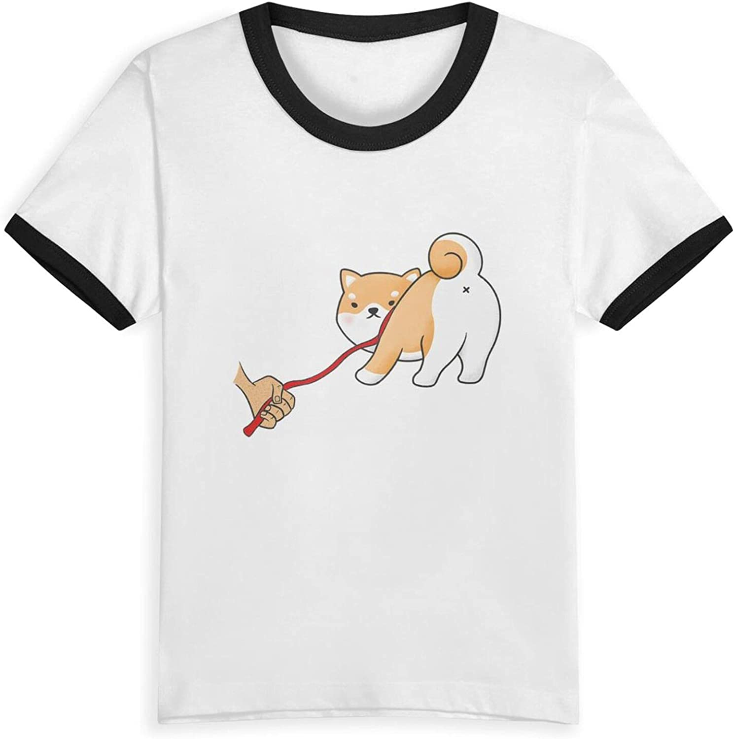 No Nope Reject Shiba Inu T-Shirts Novelty for Youth Tees with Cool Designs
