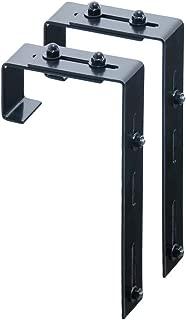Mayne Adjustable Deck Rail Bracket 2 Pack