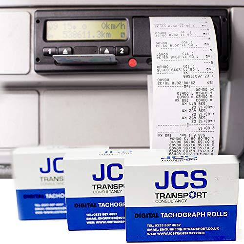 HGV Digital Tachograph Rolls 30 Boxes x 3 Rolls 90 in Total