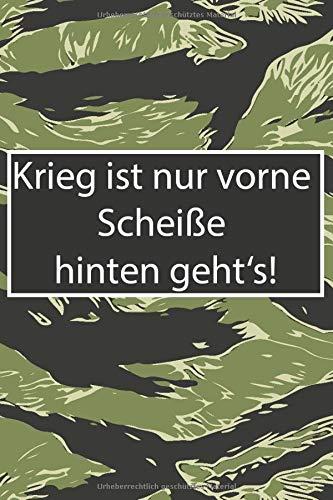 Soldaten Tagebuch Notizbuch: Einsatztagebuch für Kameraden zum festhalten von Erlebnissen im Auslandseinsatz - Notebook - hochwertiges dickes Papier