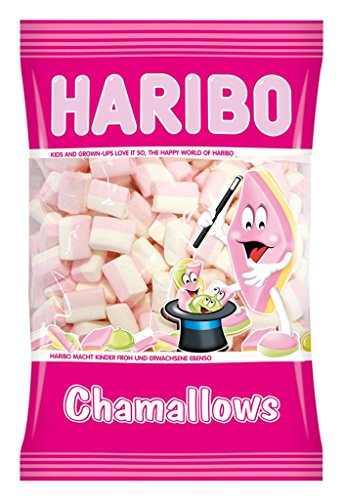 HARIBO Chamallows Cubetto (Mini Blok) Caramelle Morbide Gommose Al Gusto Di Frutta E Vaniglia 1 kg Sfuse Irresistibili Per Adulti E Bambini Perfette Per Party Feste E Dolci Momenti Di Relax - 1000 ml