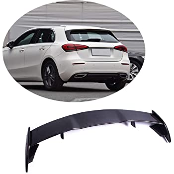Color : Black Spoiler For Mercedes-Benz A-Klasse W176 A160 A180 A200 A250 A45 AMG 5-T/ürer 2013-2018 ABS Kunststoff Heckspoiler Fl/ügel Kofferraumdeckel Heckspoilerlippe