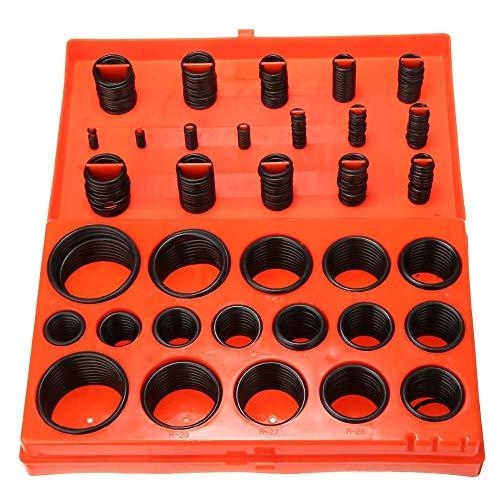 419 Stück/Set mit 32 Dichtungen aus Gummi in metrischer Größe Auto-Siegel Dichtungsring Dichtungsring Dichtungssatz für Mechanik Auto