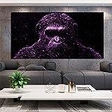 mmzki Wand Dekorative Malerei Gorilla Wandbilder Für Wohnzimmer Poster Drucken Quadros Monkey...