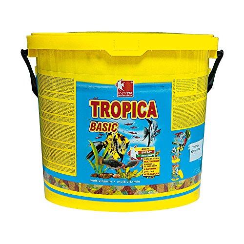 Tropica Dajana Basic-7 pienso completo en copos excepto para todos los tipos de peces tropicales