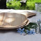 紙皿の様な皿 木で出来た使い捨て皿 KIZARA(経木の皿) (#2 ラウンド(丸皿8枚)) 純国産