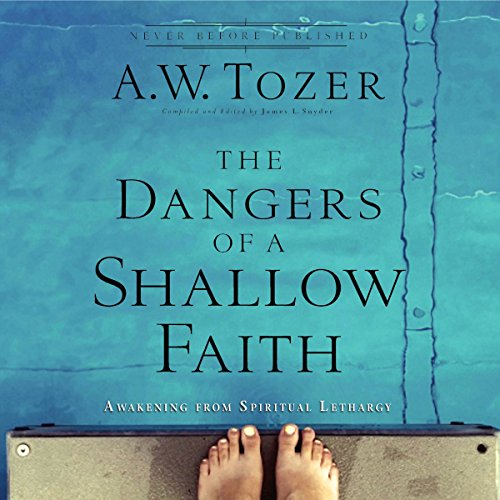 The Dangers of a Shallow Faith audiobook cover art