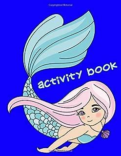 Activity Book: 200-Page Activity Book   Family Fun Games   Hangman   Tic Tac Toe   Hexagon   Four In A Row