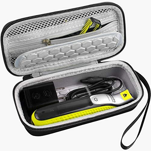 Tasche für Philips OneBlade Face + Body,Hybrider elektrischer Trimmer und Rasierer QP2630/30 QP2530/30 20 QP2520/70 QP2520/90 (nur Box)