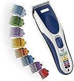 Clippers cheveux Tondeuse à cheveux rechargeable USB sans fil Tondeuse à cheveux avec 8 Peignes Guide soutiers du visage haut Lames en acier au carbone Clippers Groomers Body soutiers MDYHJDHYQ