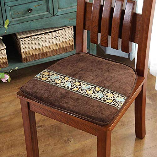 F-LFJBK Stoel zitkussen, niet-slip, Corduroy eetstoel zitkussen, zitkussen, voor bank en tatami ramen
