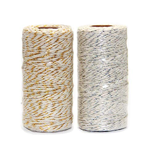 Ewparts 200 metros Cordón de hilo de algodón de color