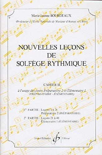 Nouvelles Lecons de Solfege Rythmique Volume 2