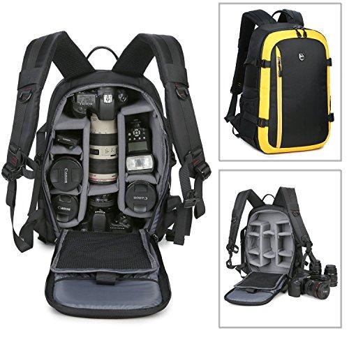 Abonnyc Dslr SLR Backpack Camera Backpack Rucksack Daypack SLR Dslr Digital...