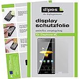 dipos I 6X Schutzfolie matt kompatibel mit Elephone M2 Folie Bildschirmschutzfolie