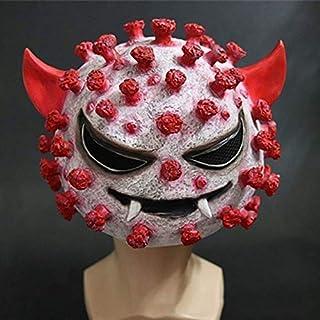 Virus Headgear Mask Halloween Horror Latex Coronavirus Props 2020-ncov Teaching Model Mask