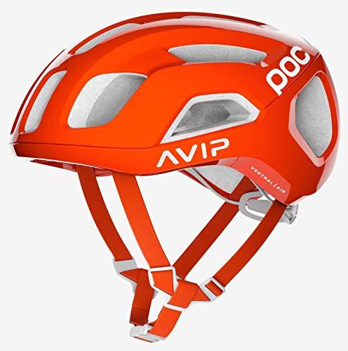 POC Ventral Air Spin Fahrradhelm Unisex Erwachsene Orange Zink Orange AVIP, Med