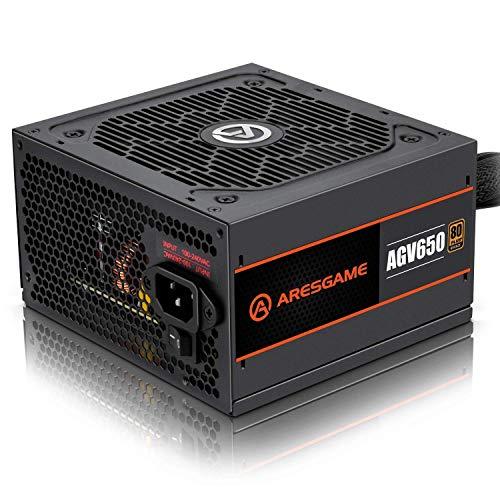 ARESGAME 650W Alimentatore PC, 80 Plus Bronze (AGV650)