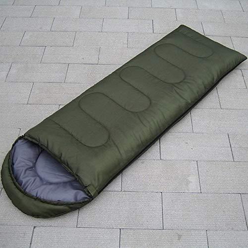 no brand Enveloppe Camping en Plein Air Adulte Sac De Couchage Portable Ultra Léger Étanche Voyage Randonnée Sac De Couchage avec Cap Drop Shipping