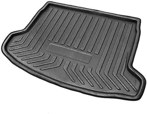 Gummi Auto Kofferraummatten Hintere Bodenmatte für Nissan Qashqai Dualis J11 2008-2019, Liner Wasserdichte Staubdichte Rutschfest Anti-Scratch Dekorations Zubehör