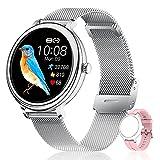 CatShin Smartwatch,Reloj Inteligente Mujer con...