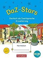 DaZ-Stars - BOOKii-Ausgabe: Deutsch als Zweitsprache - Erweiterung - Uebungsheft - Mit Loesungen