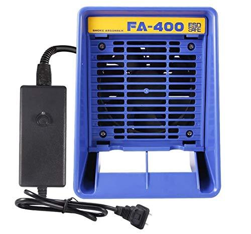 Amortiguador de humo para soldadura de humo, extractor de humo, extractor de humo, extractor de humo, extractor de humos, extrador de humos, absorción de humo, con filtro de adsorción, esponja