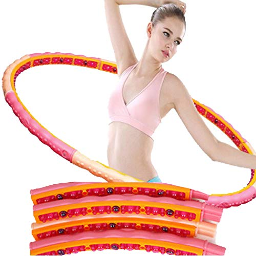 Health Hoop -Korean Fat Burning Magnetic Massage hoop 1.6LB (Step2) workout