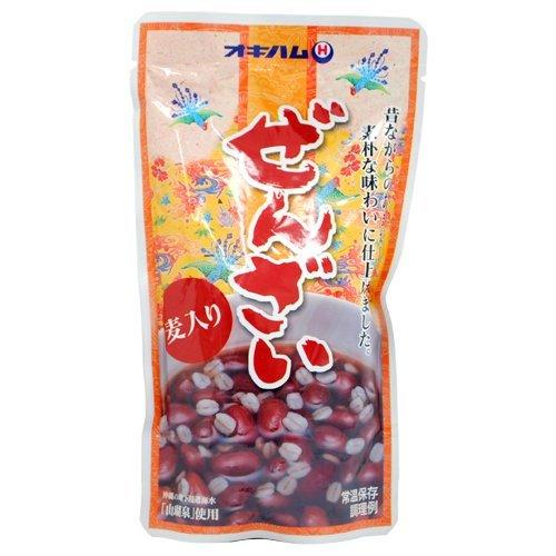 沖縄ハム総合食品 オキハム ぜんざい麦入り 180g
