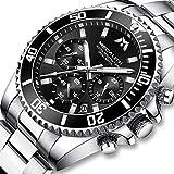 Montre Homme Montres Bracelets Etanche Design Chronographe Lumineuses Classique...