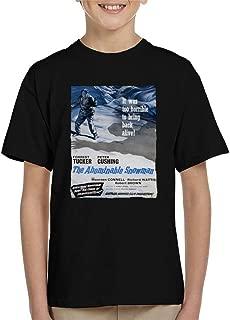 Hammer Horror Films Abominable Snowman 1957 Poster Kid's T-Shirt
