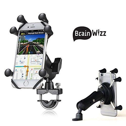 petit un compact Support de smartphone pour moto / scooter / vélo – Support pour guidon ou rétroviseur -…