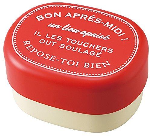 Boîte à lunch Bon Après Midi boîte à lunch ovale rouge