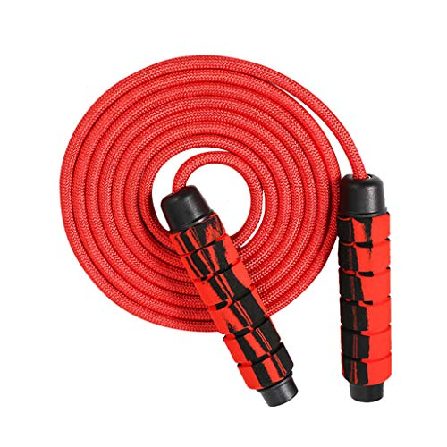 Review Weighted Skipping Rope Removable Weights, Jump Rope for Cardio Fitness Workouts Endurance Tra...