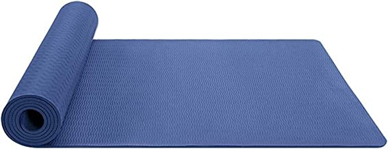 Eco Friendly Non Slip Fitness Exercise Yoga Mat Ec Friendl Tp Yoga Mat Non-Sli Exercis Mat Fo Hom Gy Resistanc Fitnes Foa Mat Workou Loos Weigh Pilate Mat Fo Aerobic Gymnastics Fitness Camping