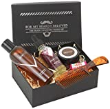 Men Rock Beard Care and Moustache Care Gift Set - For My Beardy Beloved