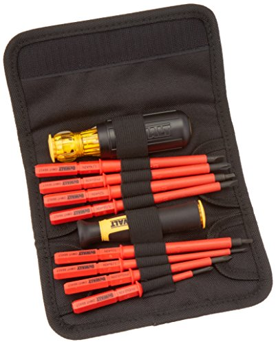 DEWALT Screwdriver Set, Insulated Set, Vinyl Grip, 10-Piece (DWHT66417)