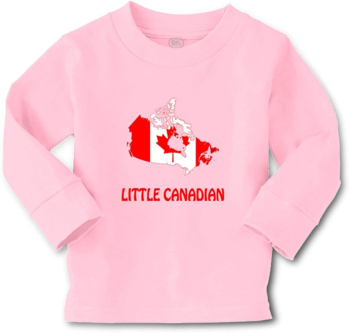 Cute Rascals Kids Long Sleeve T Shirt Little Canadian Countries Cotton Boy & Girl Clothes