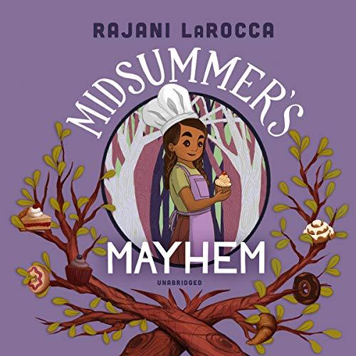 Midsummer's Mayhem audiobook cover art