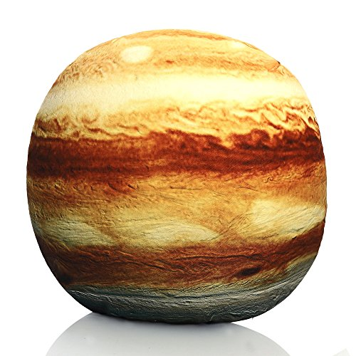 YXCSELL Stuffed Stone Pillows Large Festive Giant Rock Throw Couch Cushions Modern Stone Indoor Outdoor Plush Decorative Floor Pillows Kids Throw Education Toy Jupiter Planet