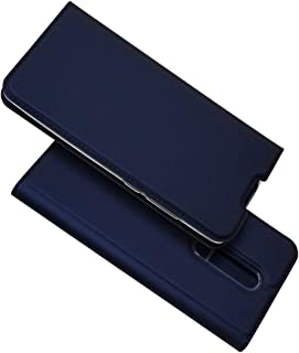"Xiaomi Redmi K20 /K20 Pro/Mi 9T /9T Pro 6.39"" ケース 手帳型 カバー Zouzt 高級PUレザー ベルト無し マグネット ポケット収納付き スタンド機能 二つ折り 薄型 軽量 耐汚れ 耐衝撃 防塵 衝撃吸収 人気 深い青"