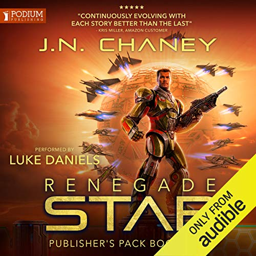Renegade Star: Publisher's Pack 3 audiobook cover art